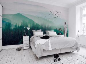 Tranh dán tường 3D Phòng ngủ BE150